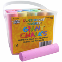 Giant Chalks.Assorted colours