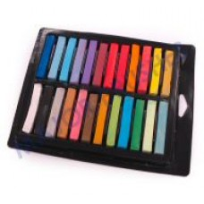 Soft pastels in 24 assorted colours