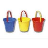 Summer Fun 14cm Round Bucket.Various Colours.