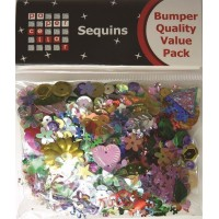 Paper Cellar Bumper Quality Value Pack Sequins.