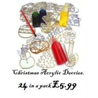Christmas Acrylic decorations