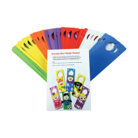 Craft Foam Door Hangers.30 Pack