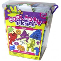 Creative Hands Foam Pirates stickers.