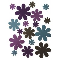 Craftime.Forever Flowers Boutique Foam Suede Flowers.56pcs