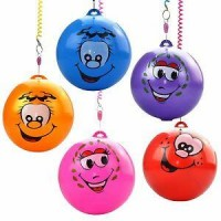 Smiley Face Play Ball.Various Colours.