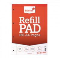 Silvine Ruled Headbound Refill Pad