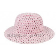 Easter Bonnet.PINK and WHITE. FLORAL.