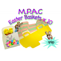 Mpac's Easter Baskets x 10.Product