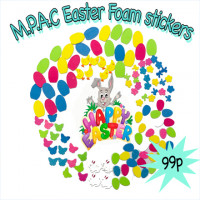Mpac's Easter Foam Shapes.