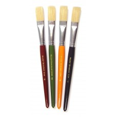 Short Round brushes size 12 4pk