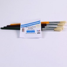 Hog Bristle Brushes Size 12 Pack of 4