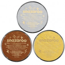 Snazaroo Metallic face Paint 18ml