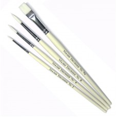Synthetic Sable Brush 4pk