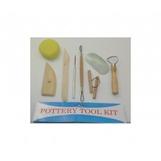 Pottery Tool Kit. 8 Piece set.