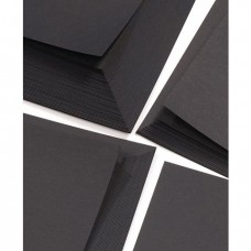 A4 Recycled Black Card 270gsm