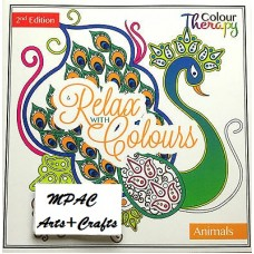 Colour Therapy Relax with Colours.Animals 2nd Edition.