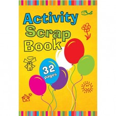 Zip Activity Scrap Book.Junior.32 Page.