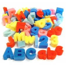 Uppercase Foam Letter Shapes 26pk