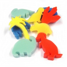 Foam Dinosaur Shapes 9pk