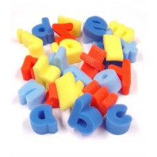 Lowercase Foam Letter Shapes 26pk