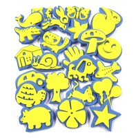 Foam Stamps Set 24pk